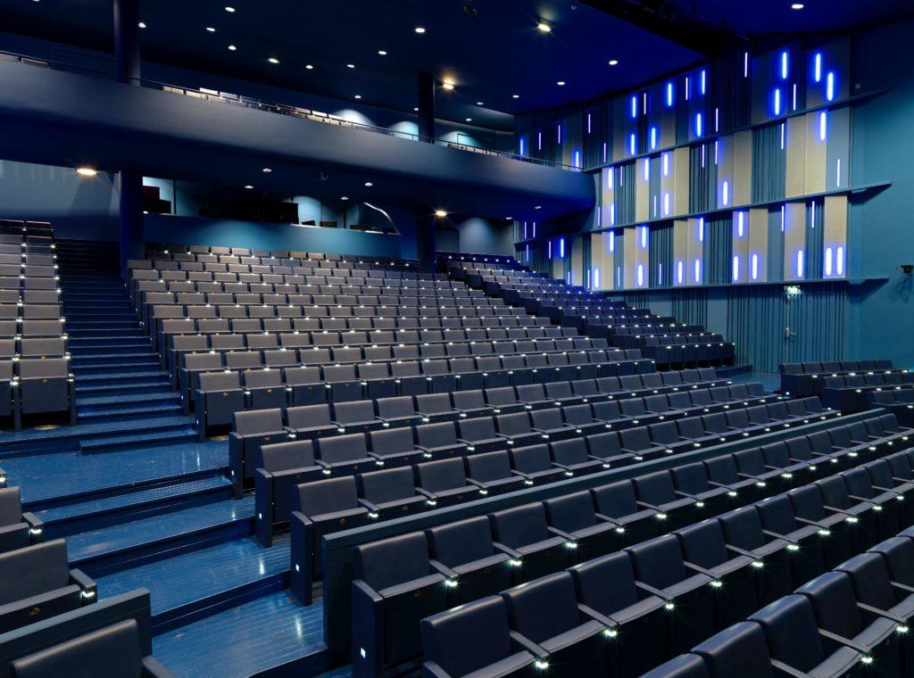 Photo de l'amphithéâtre du Conservatoire J-B Lully à Puteaux (92)
