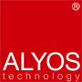 Logo ALYOS technology rouge