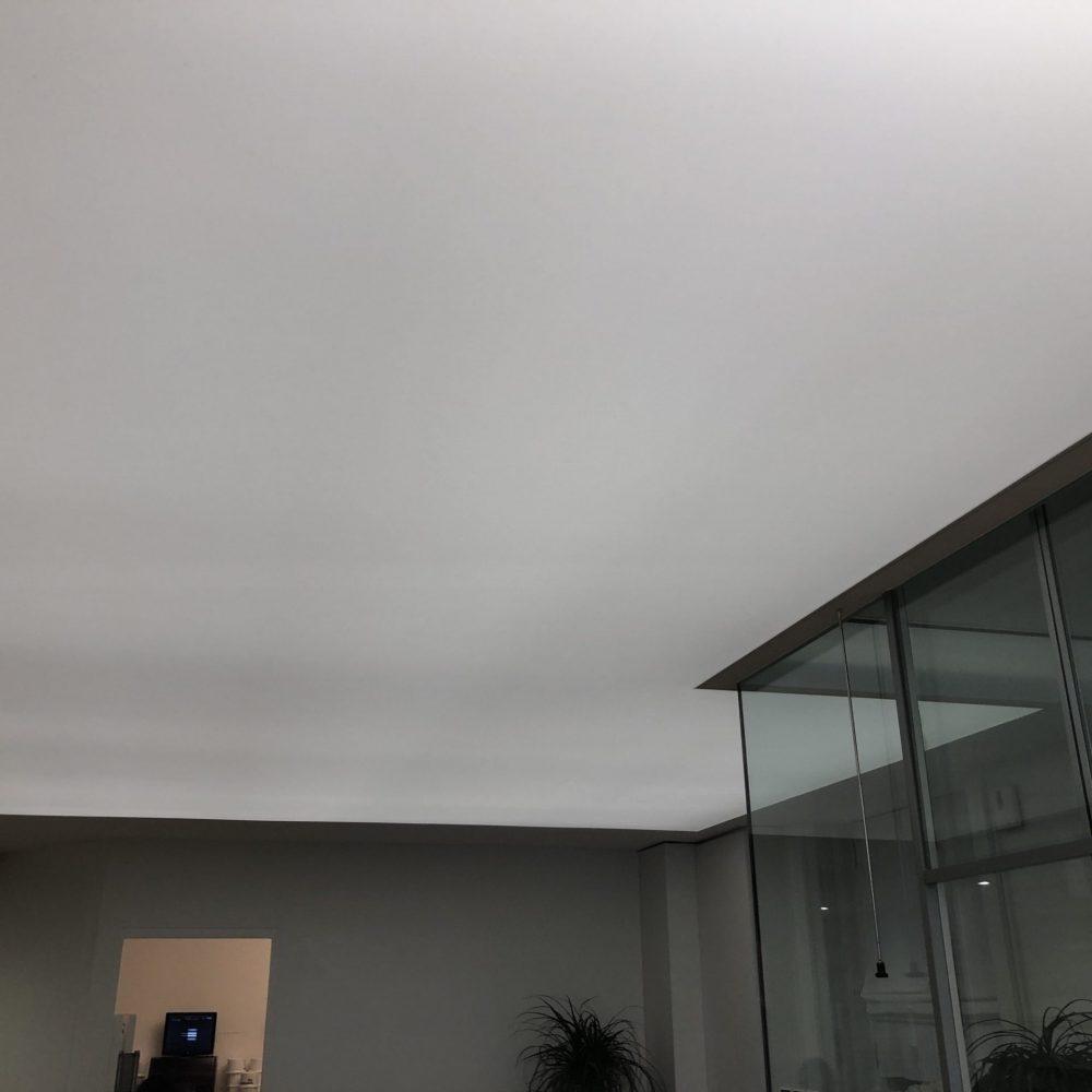 Photo d'un plafond blanc translucide ALYOS pour rétroéclairage